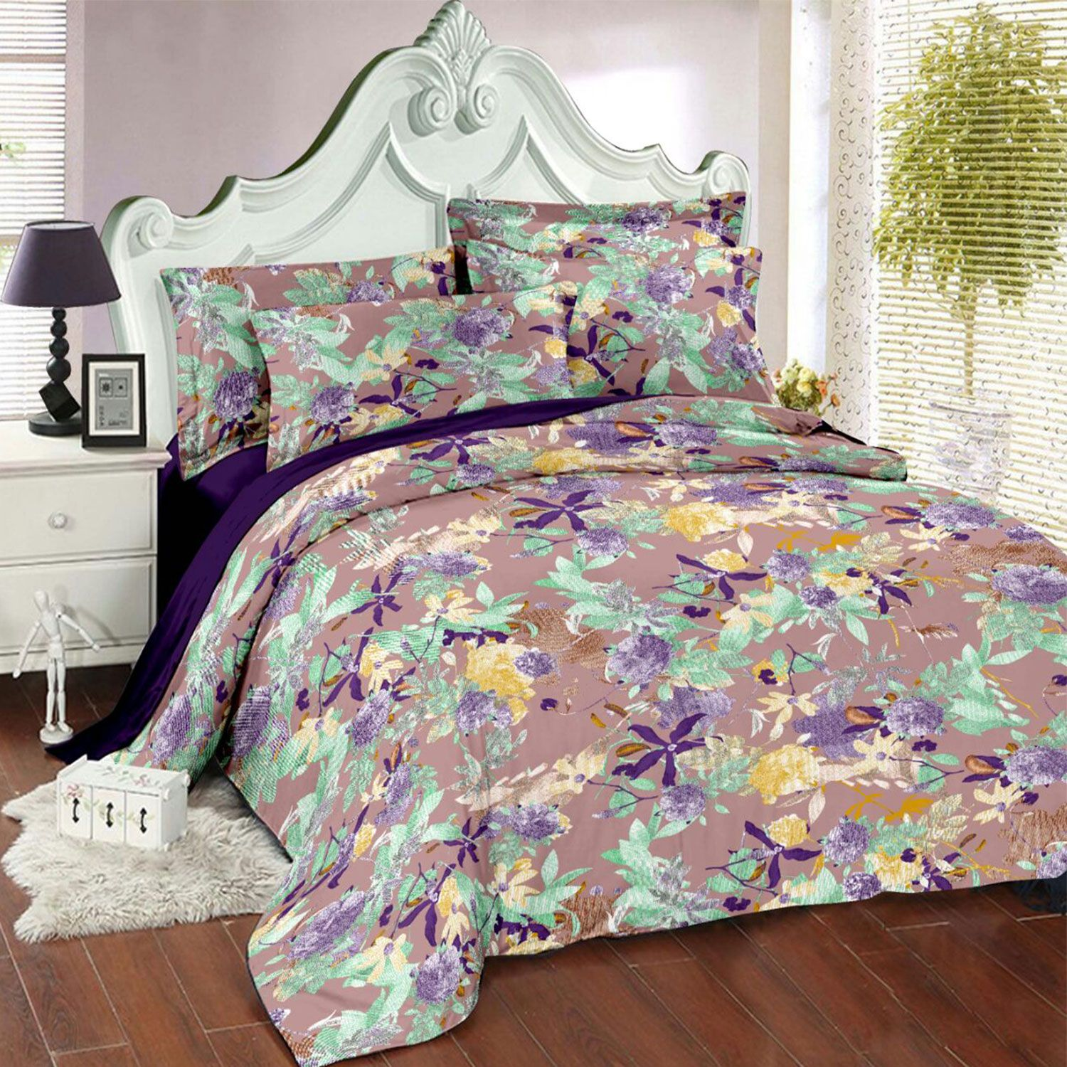 Always Plus 100 cotton double bedsheets Bed sheets, Bed