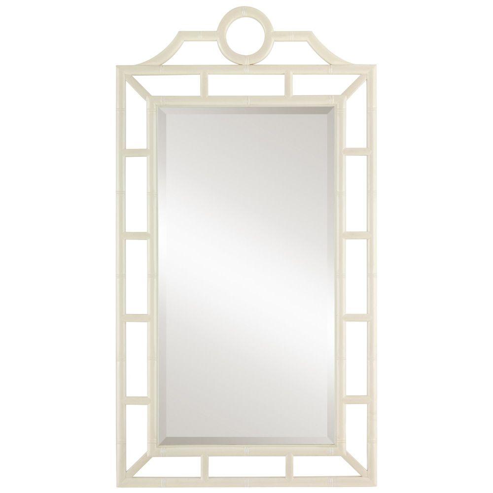 Bungalow 5 Chloe White Mirror @Layla Grayce