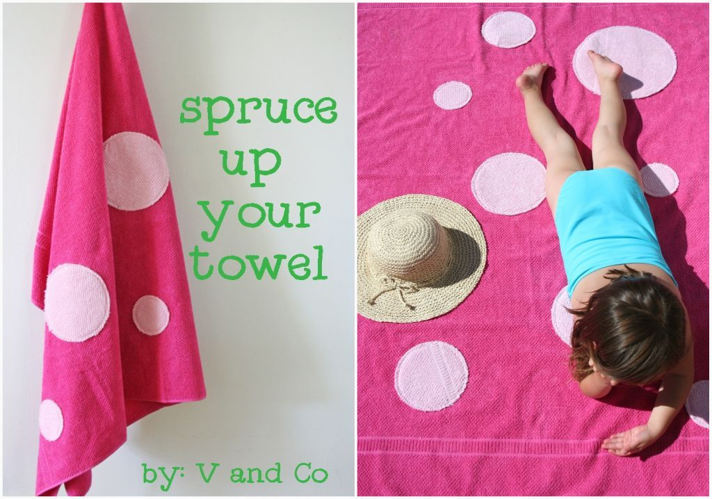 V and Co.: spruce up your towel
