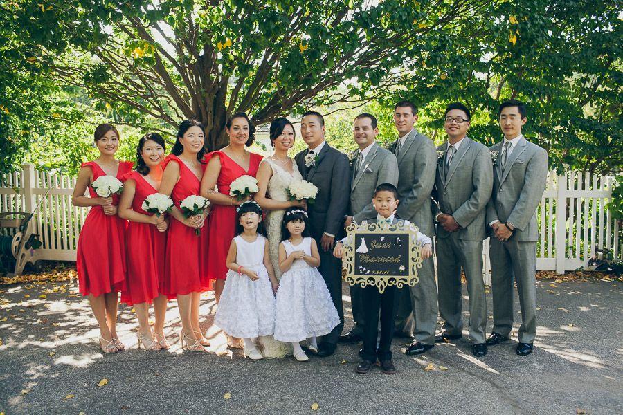 New York Queens Botanical Garden Wedding Golden Unicorn Reception | Erich