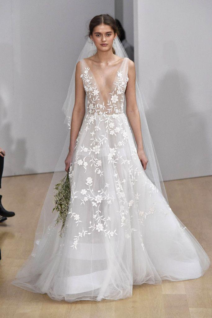 oscar de la renta bridal spring 2018 | wedding dresses 2018
