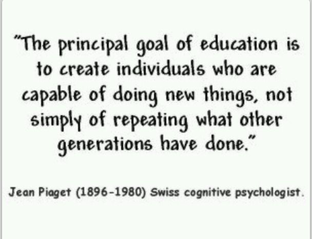 love this jean piaget quote education quotes teaching quotes