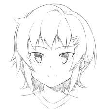 Image Result For How To Draw Heads At Different Angles Anime Drawings Face Drawing Anime Sketch