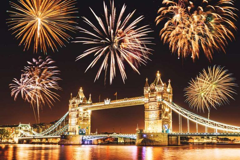 Top 9 cities to celebrate New Year's Eve around Europe