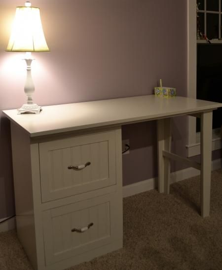 Do It Yourself Home Design: Modular Office Small Desktop/Narrow File Drawer Base Unit