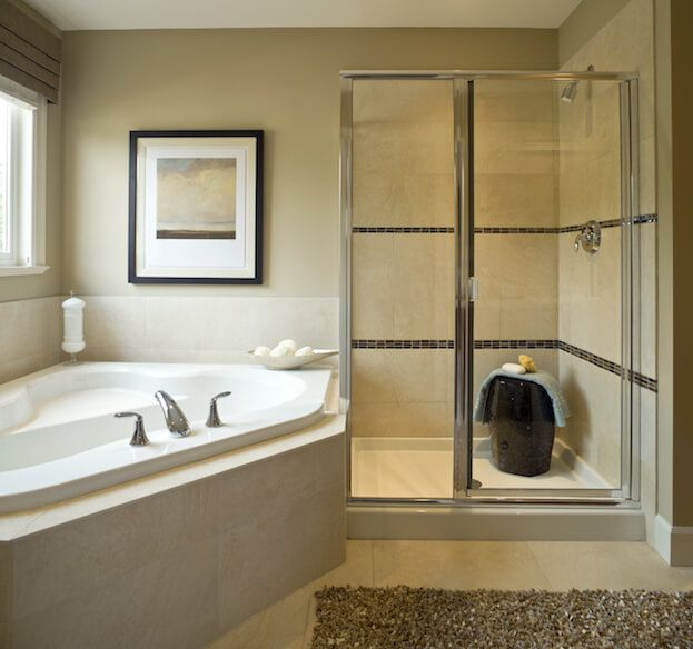 How To Retile A Shower Bathroom Remodel Cost Corner Bathtub Shower Small Bathroom