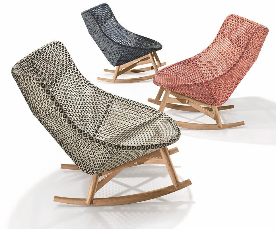 Dedon Mbrace Rocking Chair Schaukelstuhl Gartenstuhle