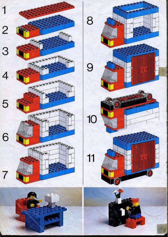 Что построить из лего инструкция в картинках