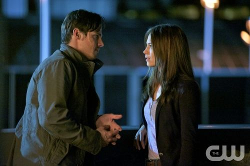 "Beauty and the Beast -- ""Proceed With Caution"" -- Image Number BB101c_0231.jpg. Pictured (L-R): Jay Ryan as Vincent and Kristin Kreuk as Catherine Chandler. Photo: Sven Frenzel/The CW --  2012 The CW Network. All Rights Reserved."