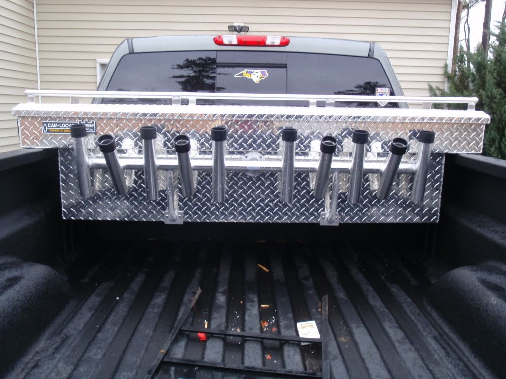 Truck Bed Toolbox Rod Rack The Hull Truth Boating And Fishing Forum Truck Bed Truck Bed Storage Box Rod Rack
