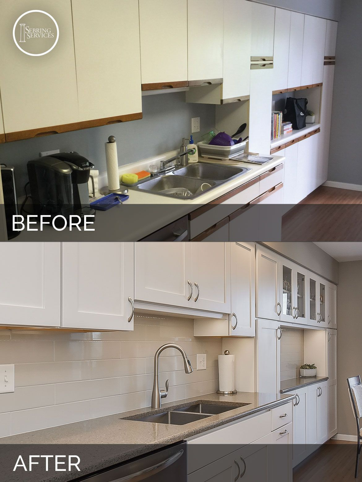 barb s kitchen before after pictures before after kitchen rh pinterest com
