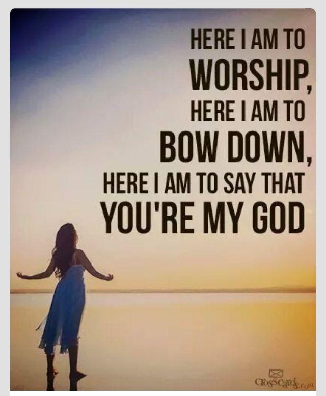 chorus of an awesome song  | God stuff | Christian song lyrics, I