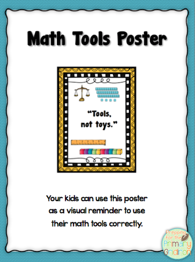math tools poster tools not toys this poster could serve as a rh pinterest com