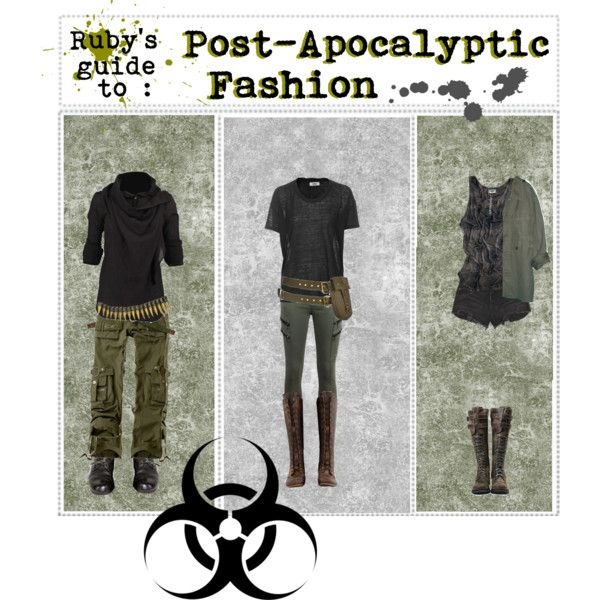 Ruby's Guide To Post-Apocalyptic Fashion