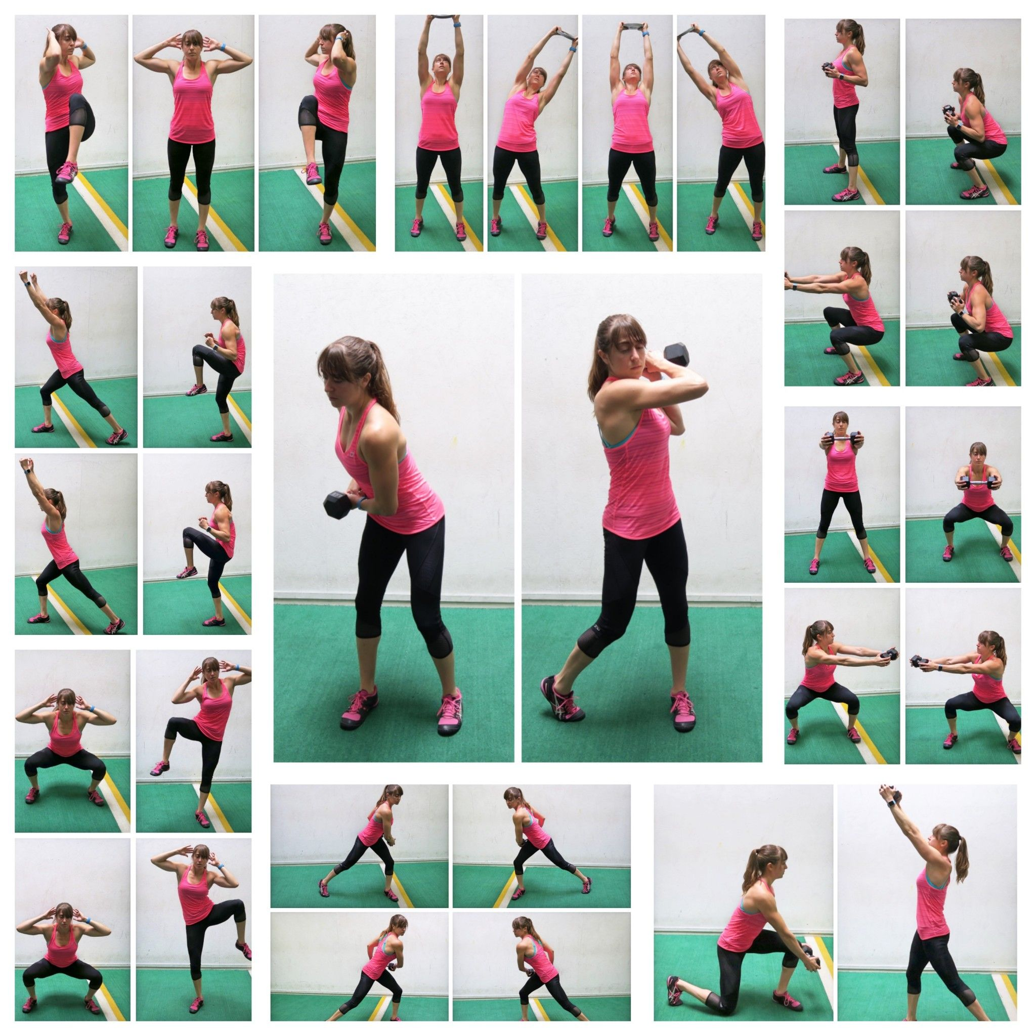 20 standing core exercises ab workout with weights