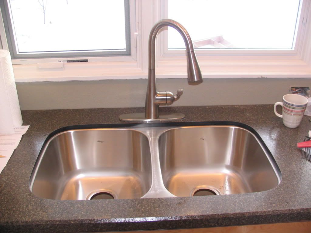 How To Install An Undermount Sink In A Laminate Countertop Wilsonart Hd Counter With Undermount Sink Kitchen