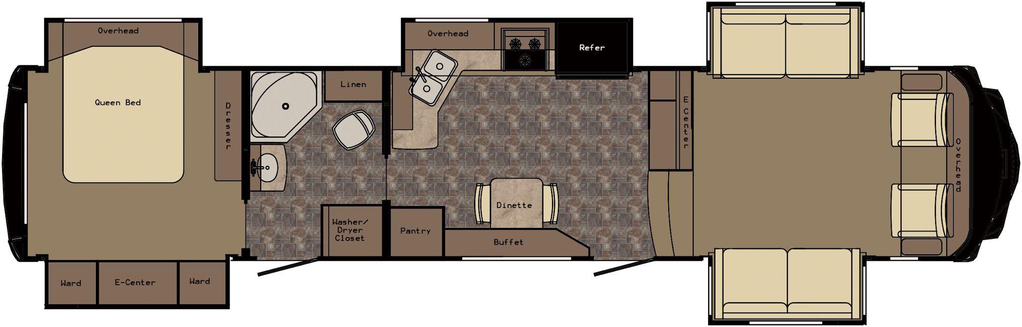 Future RV layout Rv floor plans, Floor plans, Camper