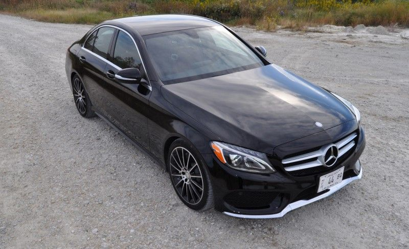 road test review 2015 mercedes benz c300 4matic sport is smooth rh pinterest com