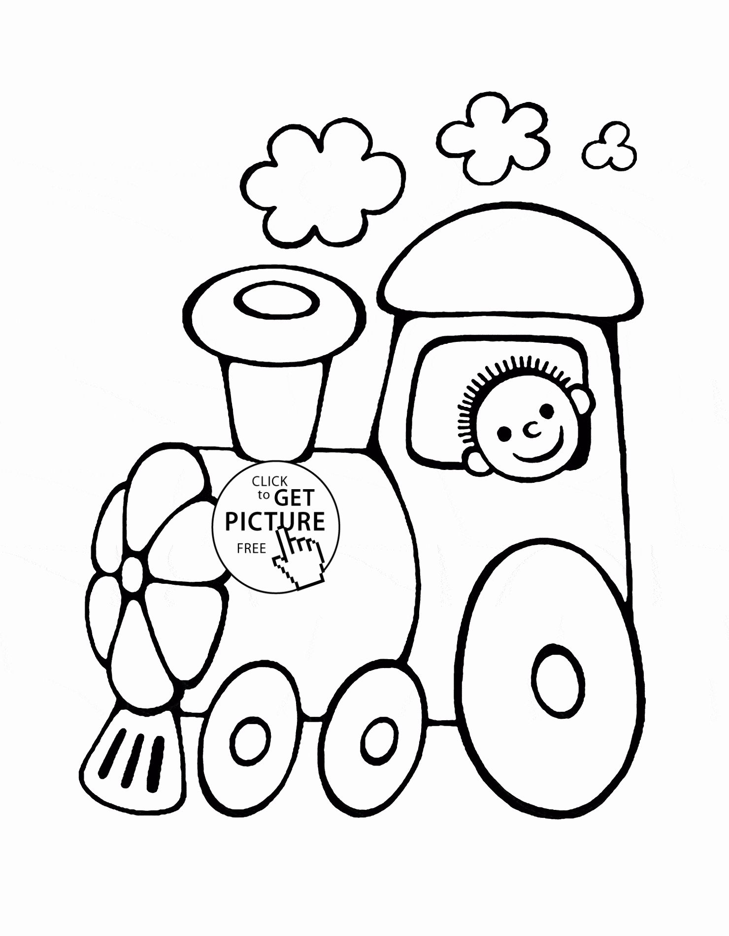 Transport Coloring Pages Free Printable In 2020 Train Coloring