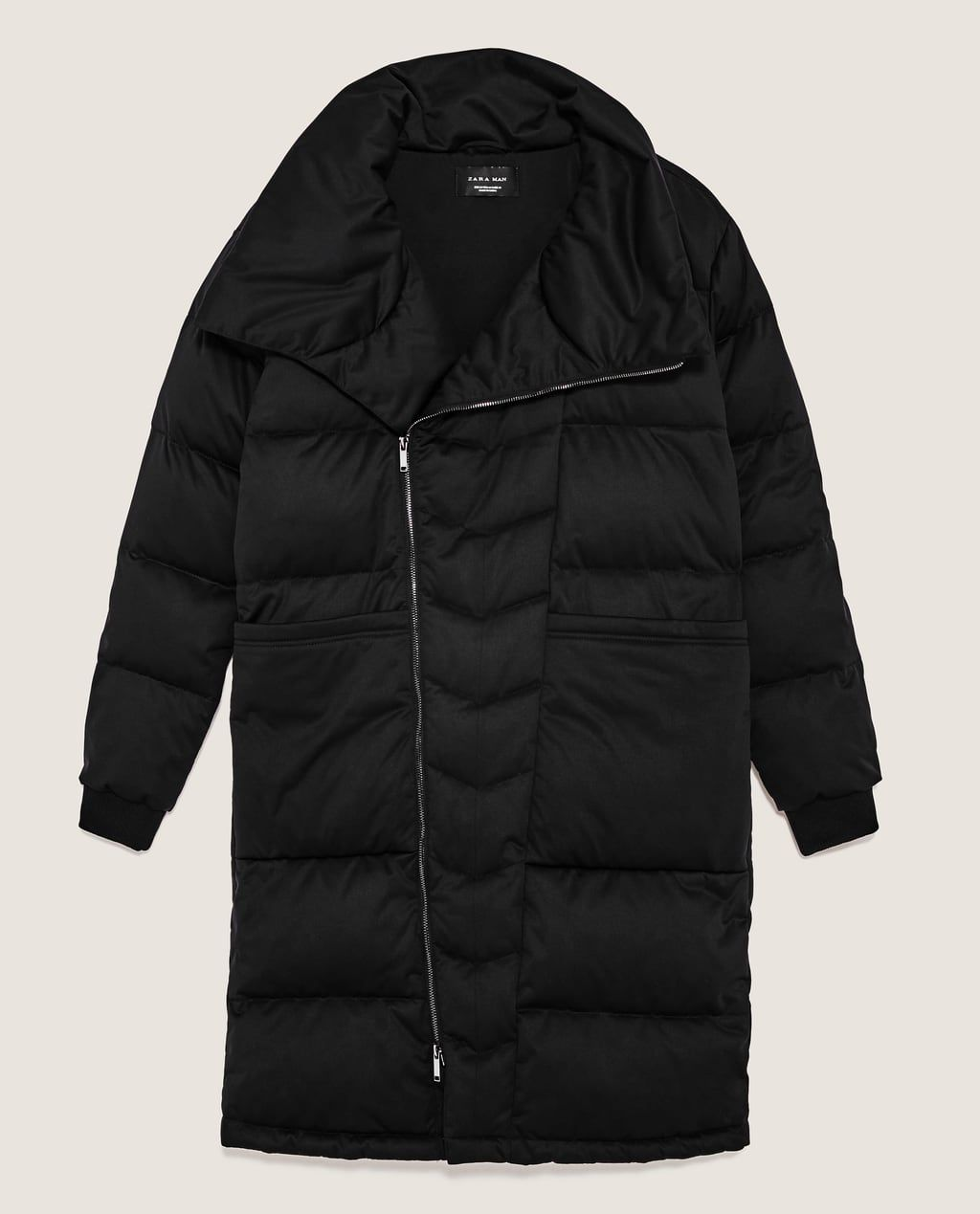 cdc5cc37 Image 8 of OVERSIZED QUILTED FEATHER DOWN COAT from Zara | Xmas 2017 ...