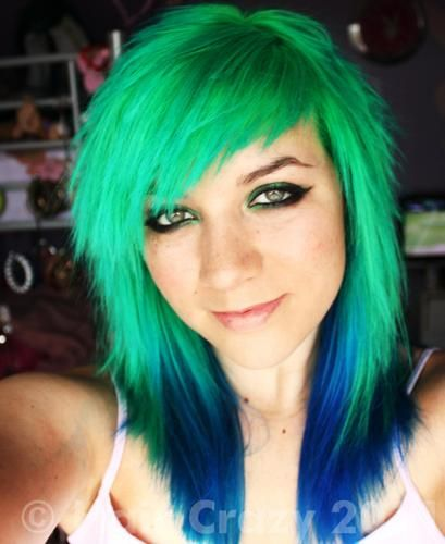 Special Effects Fishbowl And Blue Haired Freak Colors Pinterest