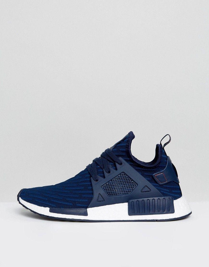 adidas Originals NMD_XR1 PK Sneakers In Navy BA7215 | Blue