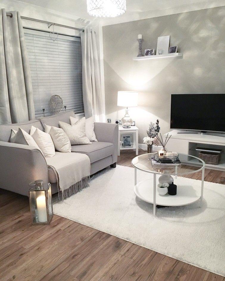 Bargain white rug - shop here
