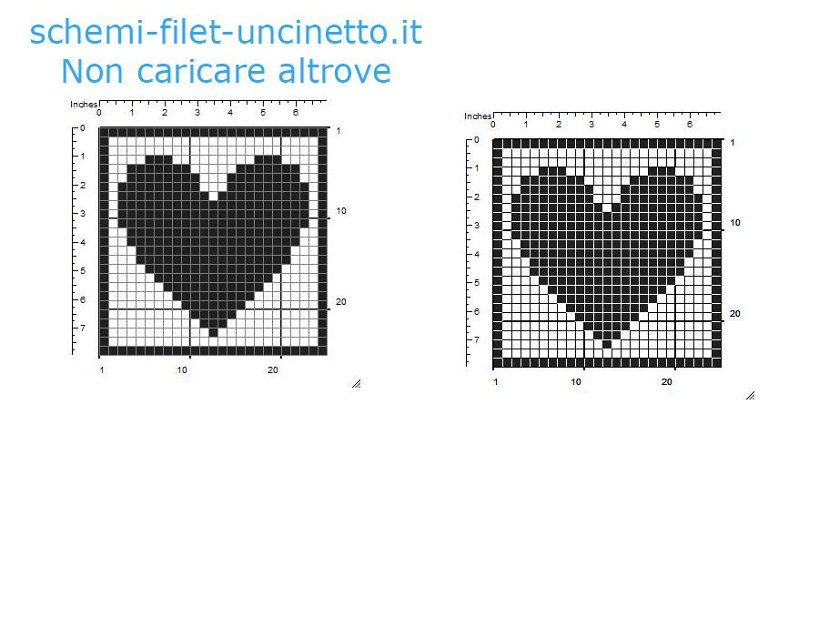 Connu Filet Schemi. Filet Schemi Fiori Created Via With Filet Schemi  TN78