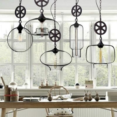 Axle included clear glass industrial pendant light pendant axle included clear glass industrial pendant light mozeypictures Image collections