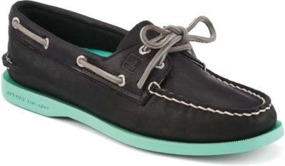 the classic gets de-preppy-ed/de-stodgified.  happy to know function can now actually look good.   Women's Authentic Original Color Pop 2-Eye Boat Shoes | Sperry Top-Sider