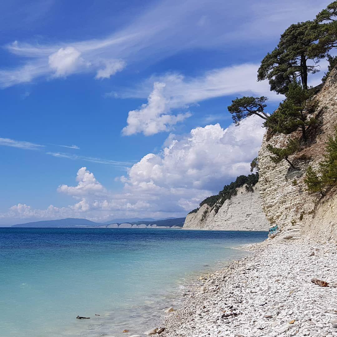 фото моря и пляжа в геленджике подберите цене