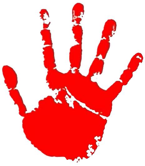 Trent S Red Handprint Red Hand Print Little Einsteins