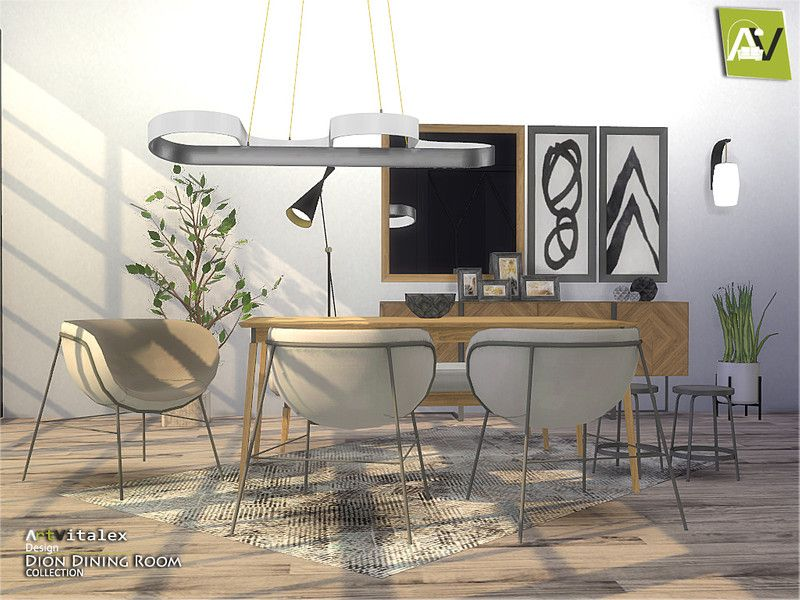 ArtVitalex's Dion Dining Room