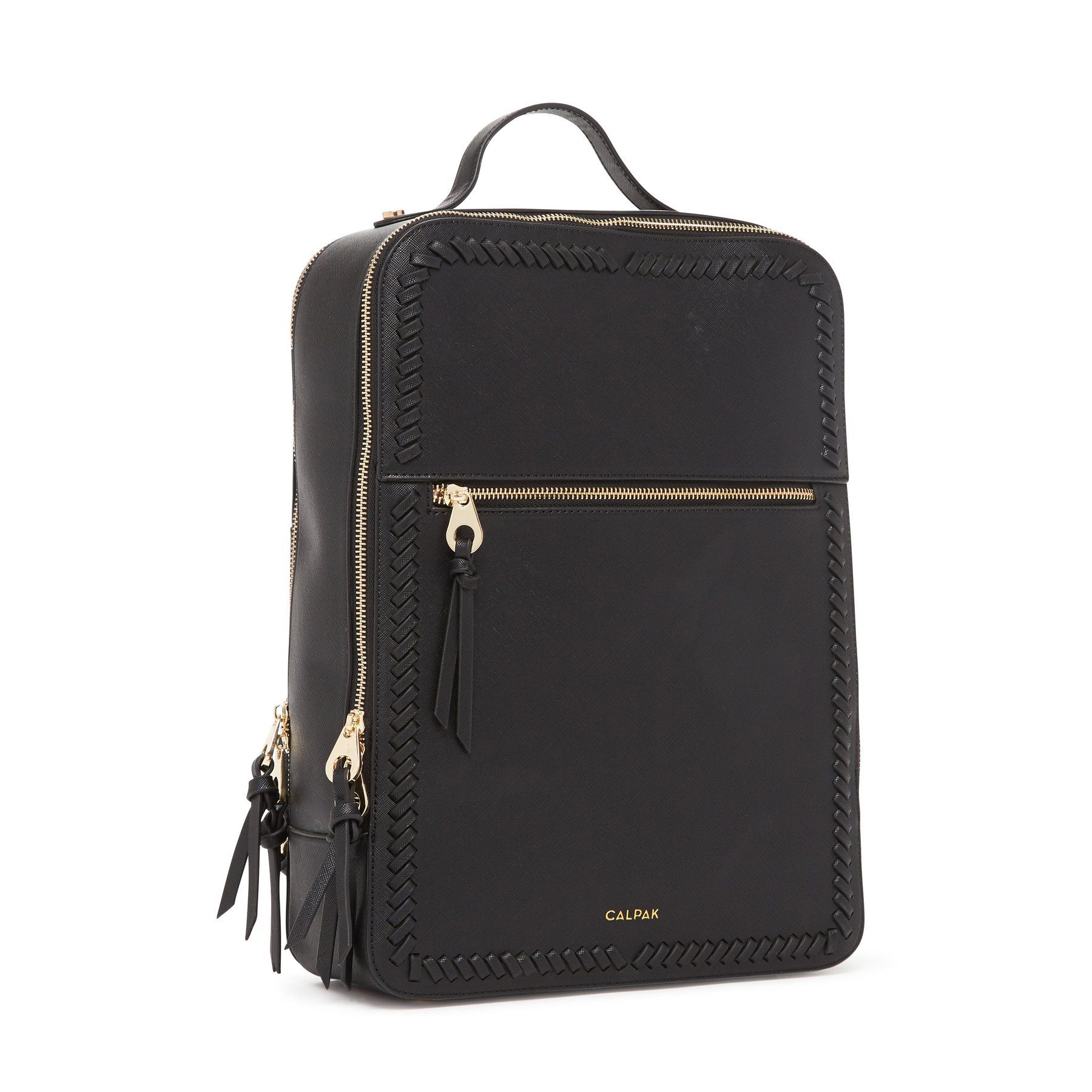 cb7a61ee0 Kaya Laptop Backpack - Black in 2019 | accessories | Leather laptop ...