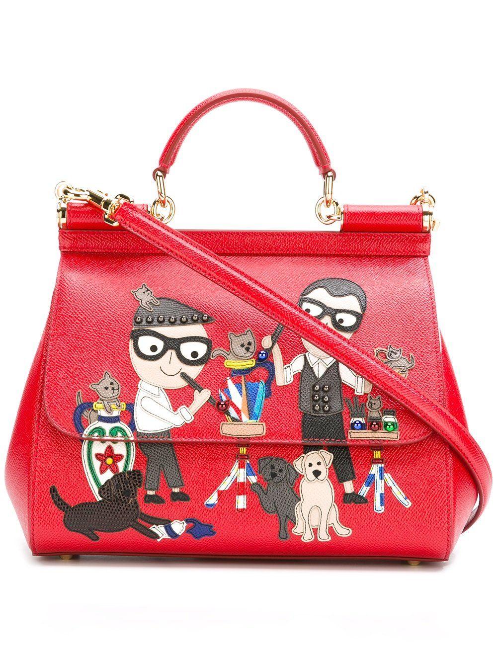 DG Family Sicily tote - Red Dolce & Gabbana SJW9R