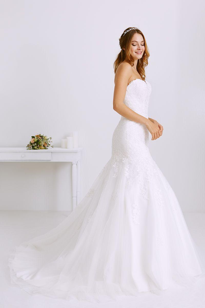 Robe de mariée évasée | Robe de mariée évasé
