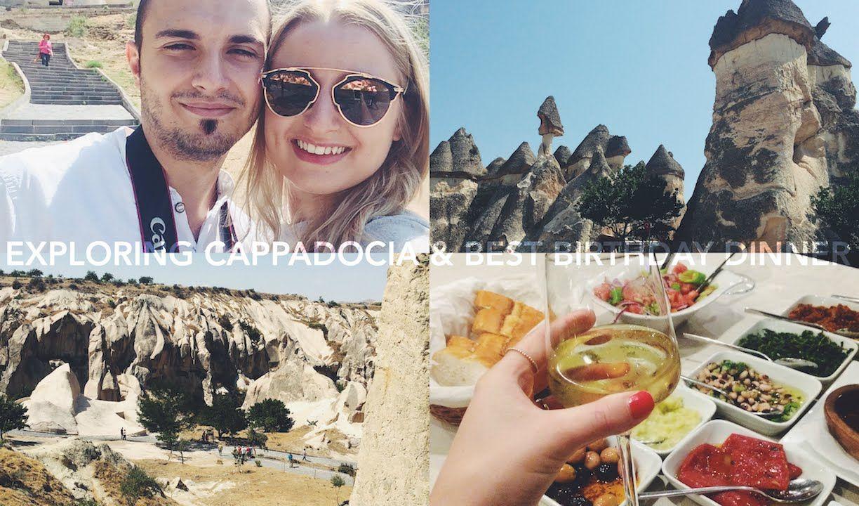 Exploring Cappadocia & Best Birthday Dinner | Day 30 #JessicaVlogsAugust