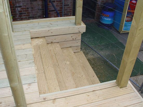 Inset Decking Steps Decks And Porches Deck Steps Deck Stairs
