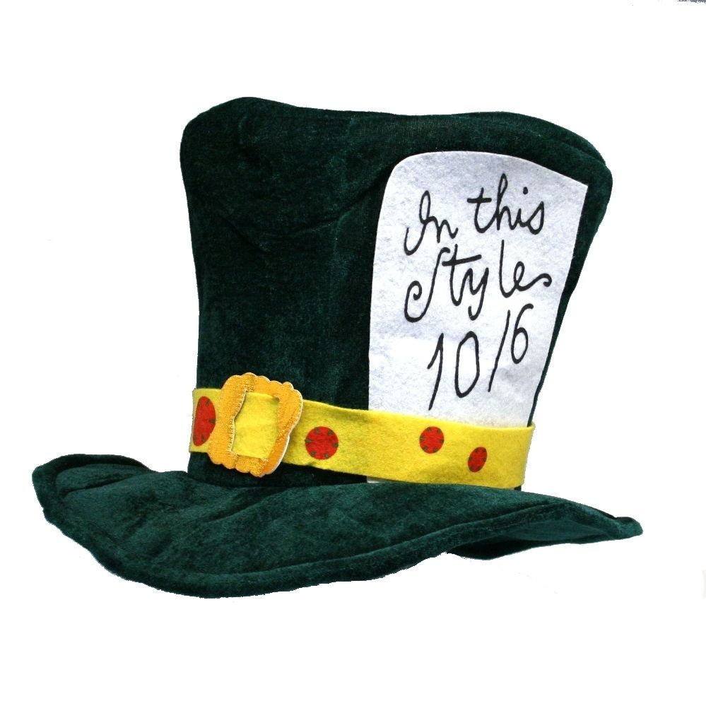mad hatter teparty invitations pinterest%0A Shop Mad Hatter Hat Party Supplies  Party Favors  Party Decorations