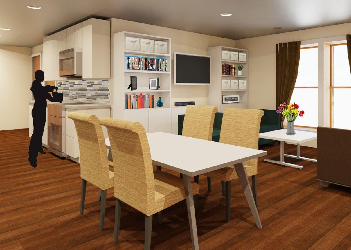 Danielle Gallardo, BFA Thesis 2016 Terrace Housing is an