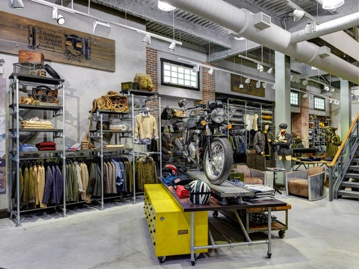 Barbour Store By Rgla Solutions Chicago Illinois Fashion