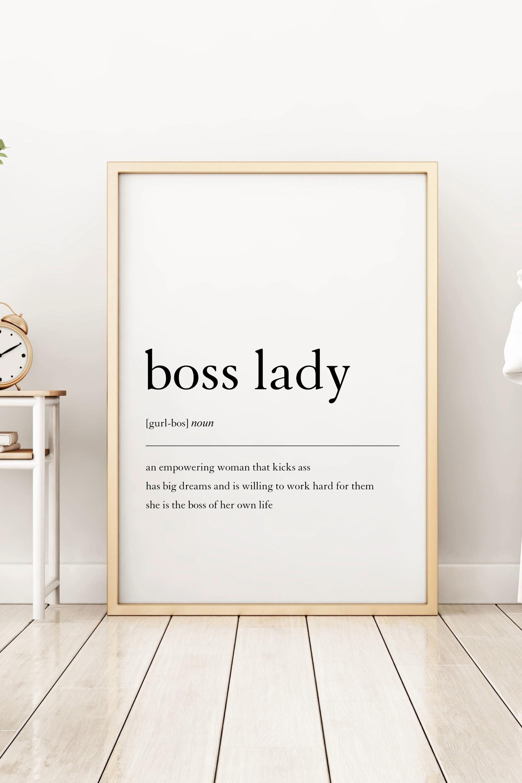 Photo of Girl Boss Wall Art