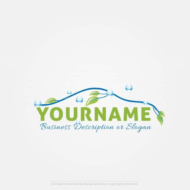 Online Logos Store - ECO Car wash logo. Create a Logo Template ...