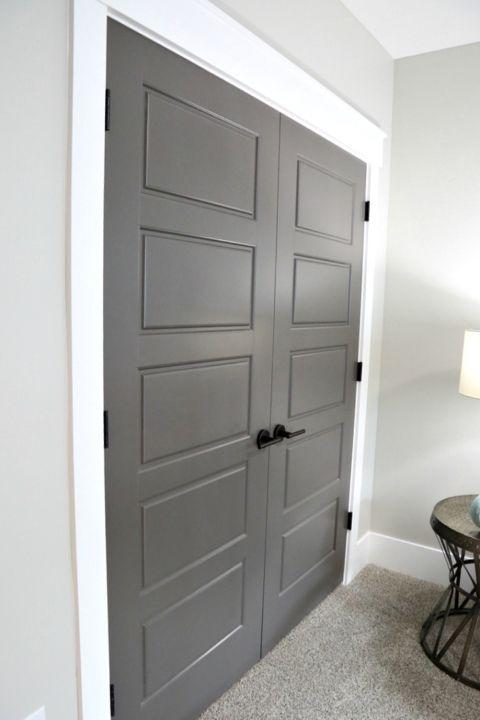 choosing interior door styles and paint colors trends rh pinterest com