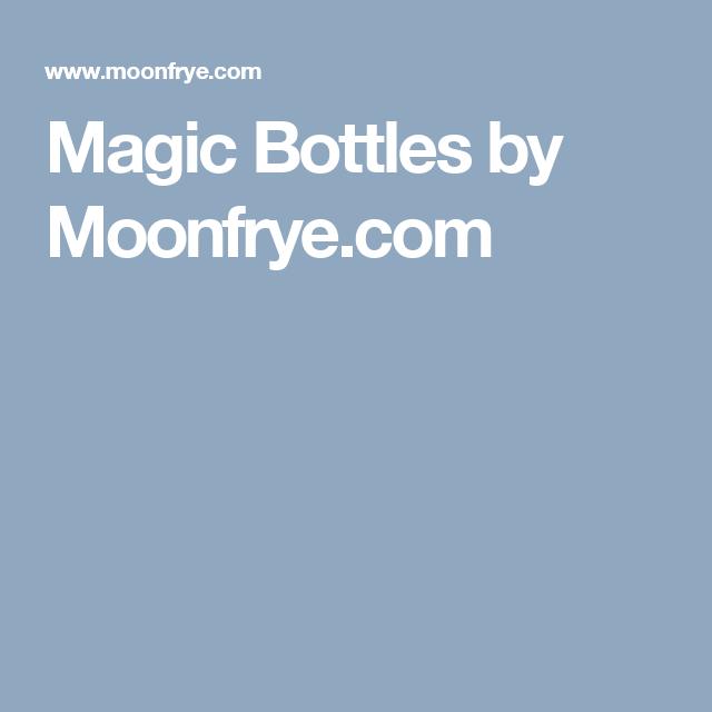 Magic Bottles by Moonfrye.com