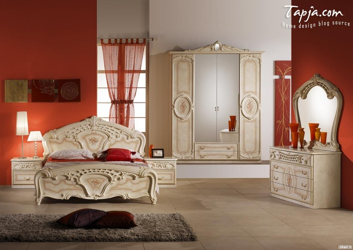 Luxury Classic Bedroom Decorating Woman Idea With