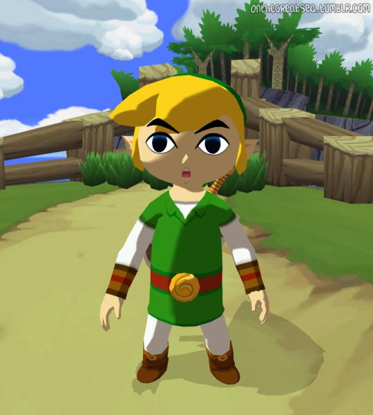 that hi-res wind waker texture mod thing | Zelda | Wind waker, Zelda