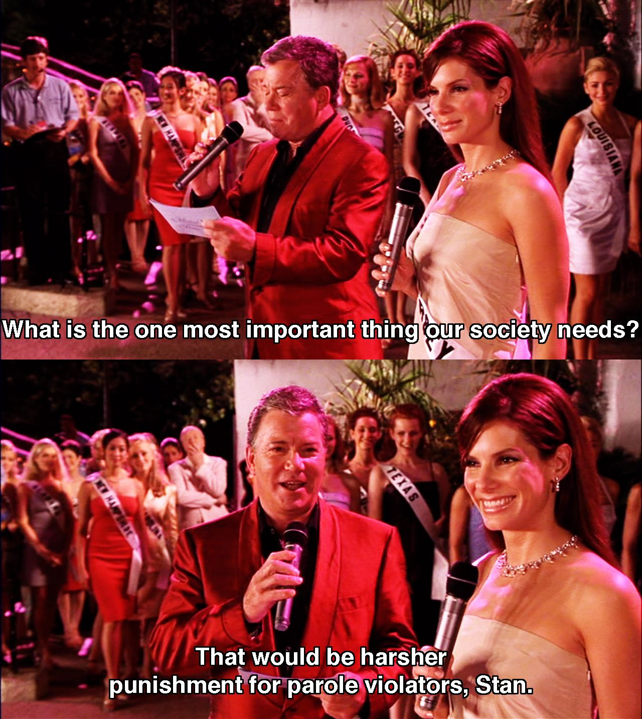 Pageant Questions Movies Funny Movies Miss Congeniality