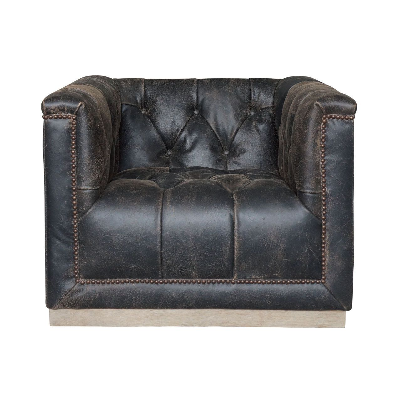 Phenomenal Maxx Distressed Black Leather Swivel Club Chair Club Caraccident5 Cool Chair Designs And Ideas Caraccident5Info