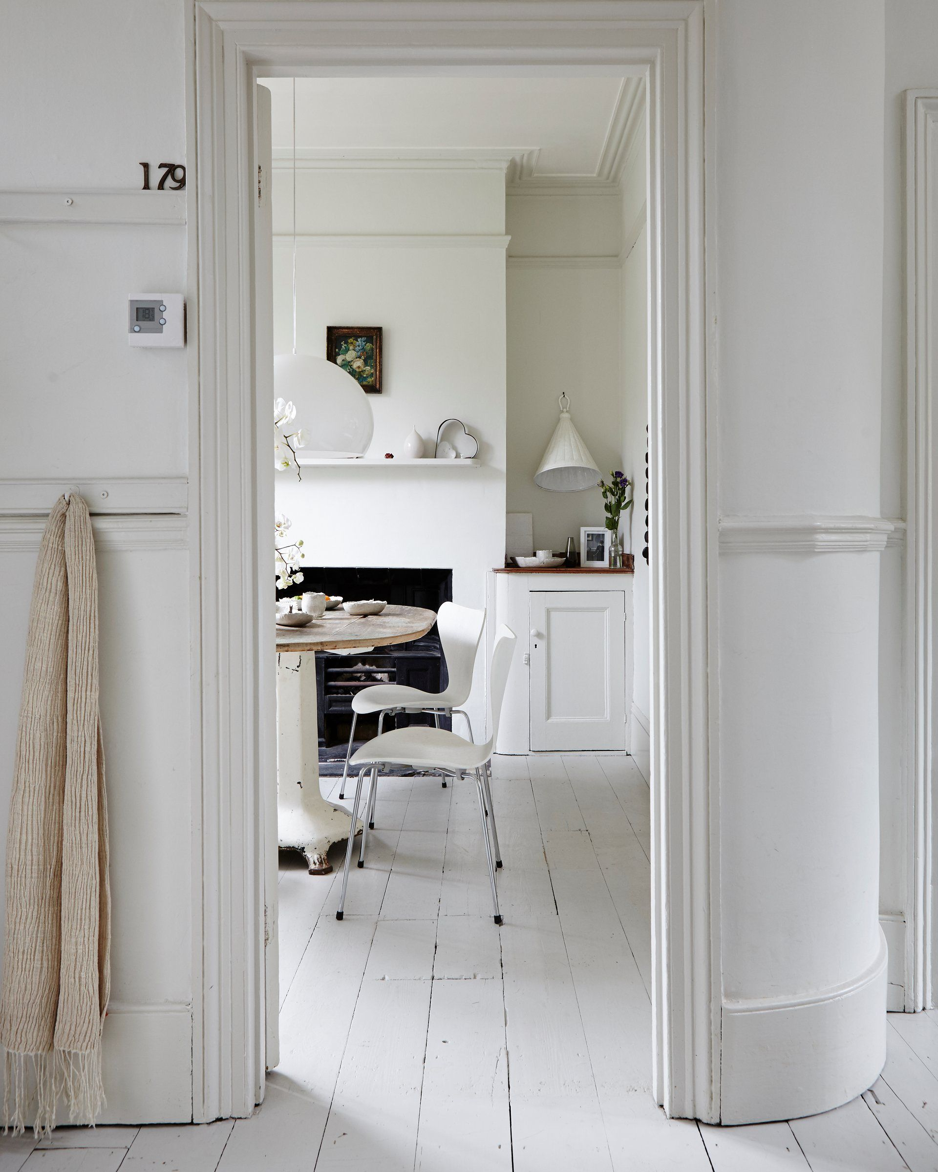 Want a place thats restful and simple then look to the pared back chic